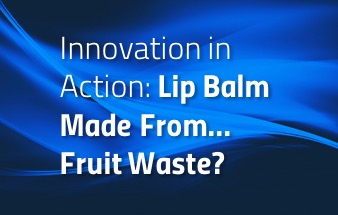 Lip Balm Made From Fruit Waste?