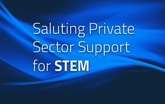 Saluting Private Sector STEM Support