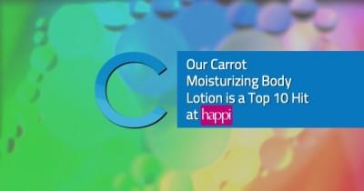 Carrot Body Lotion HAPPI