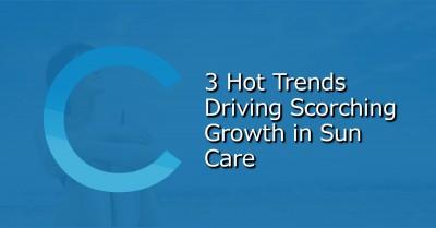 3 Hot Sun Care Trends