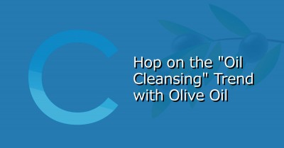 Oil Cleansing Trend Olive Oil