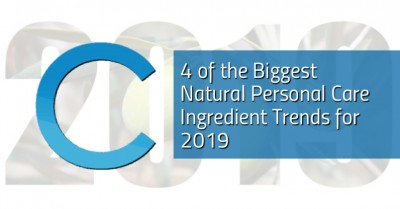 4 Natural Personal Care Ingredient Trends 2019
