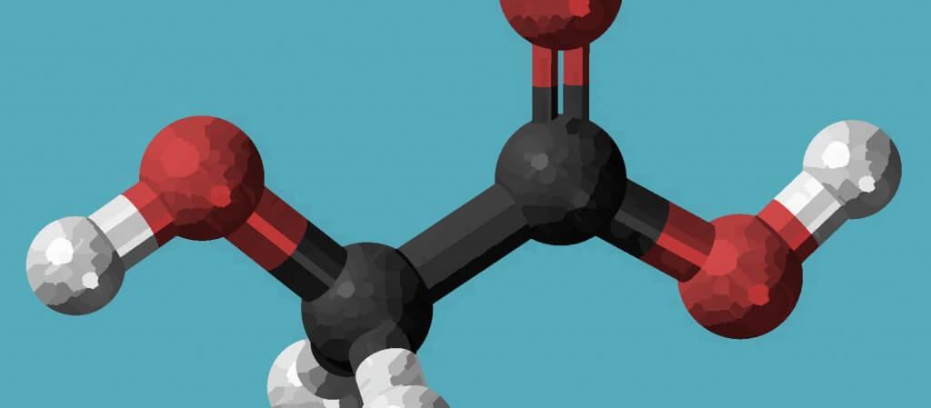 Glycolic Acid 3D Image