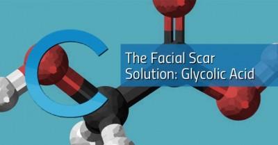 Glycolic Acid Facial Scar Solution