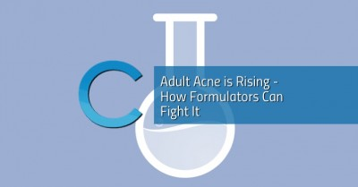 Adult Acne is Rising - How Formulators Can Fight It