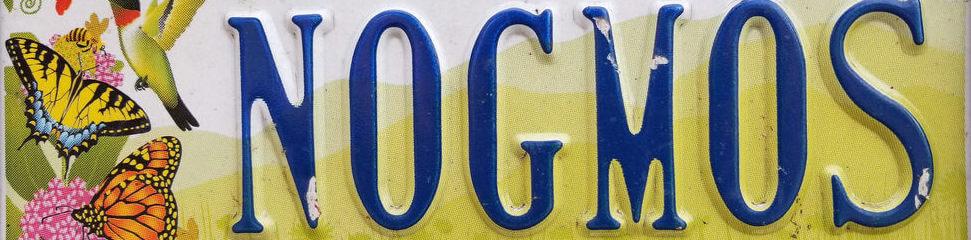 No GMOs License Plate
