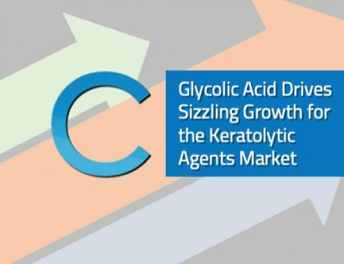Glycolic Acid Drives Sizzling Growth for the Keratolytic Agents Market