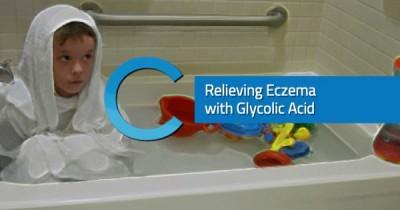 Relieving Eczema Glycolic Acid