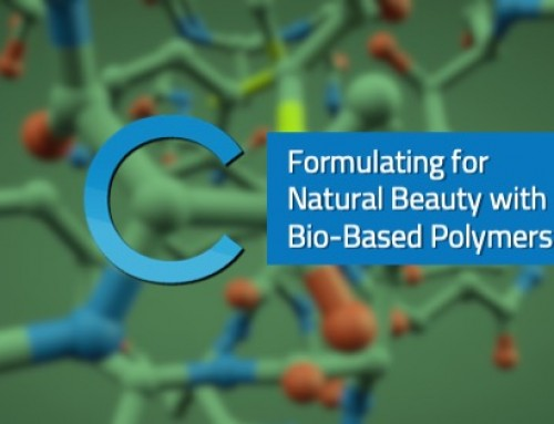 Formulating for Natural Beauty with Bio-Based Polymers