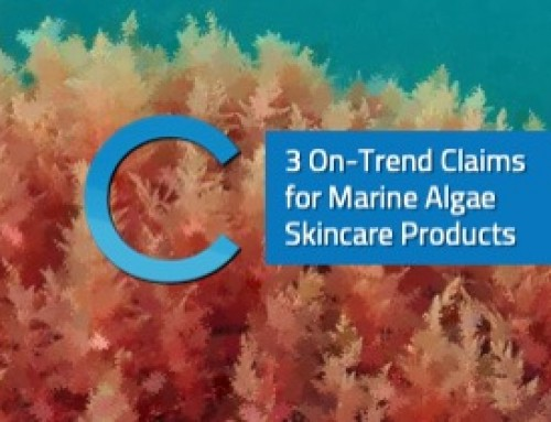 3 On-Trend Claims of Marine Algae Skincare Products