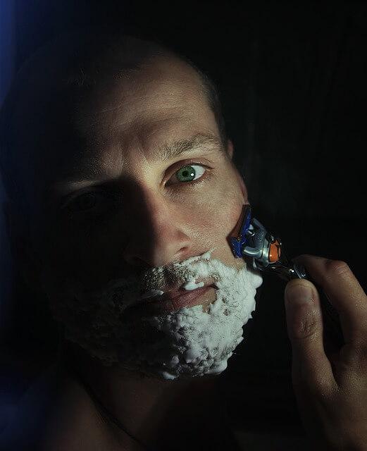 Shaving Glycolic Acid